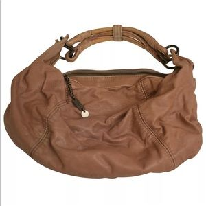 Diesel hobo purse brown vegan leather